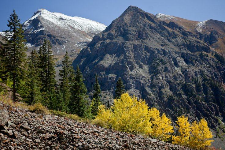 Researchers now believe the best way to avoid lung cancer would be to live on a higher altitude, like the San Juan mountains in Colorado