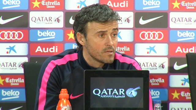 Enrique says Messi will stay at Barcelona