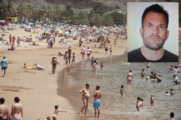 Stephen Blundell arrested in Tenerife