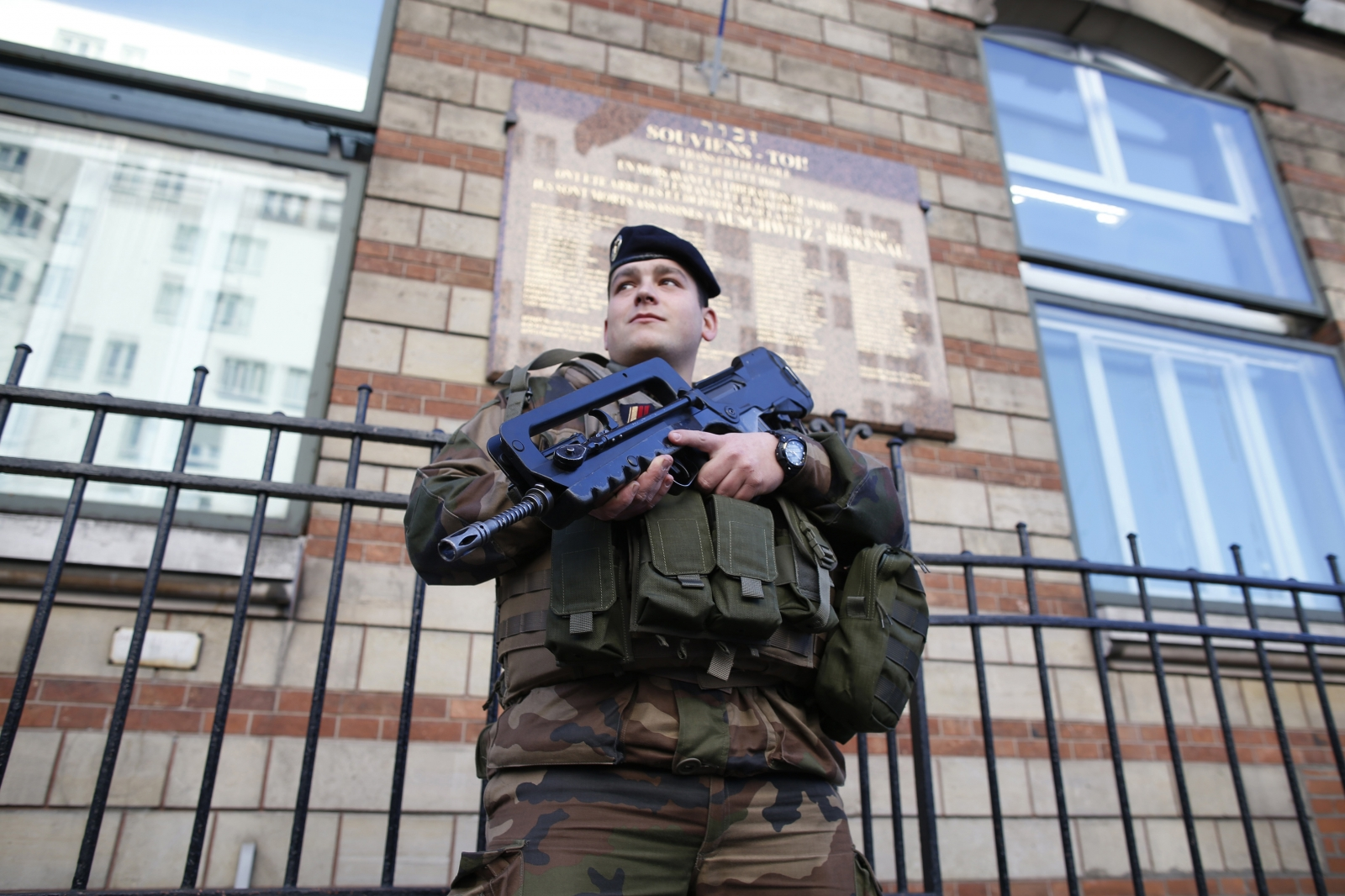 Charlie Hebdo France police step up security