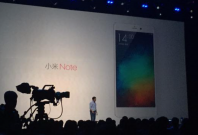 Xiaomi Mi Note launched