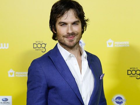 Ian Somerhalder at the The World Dog Awards