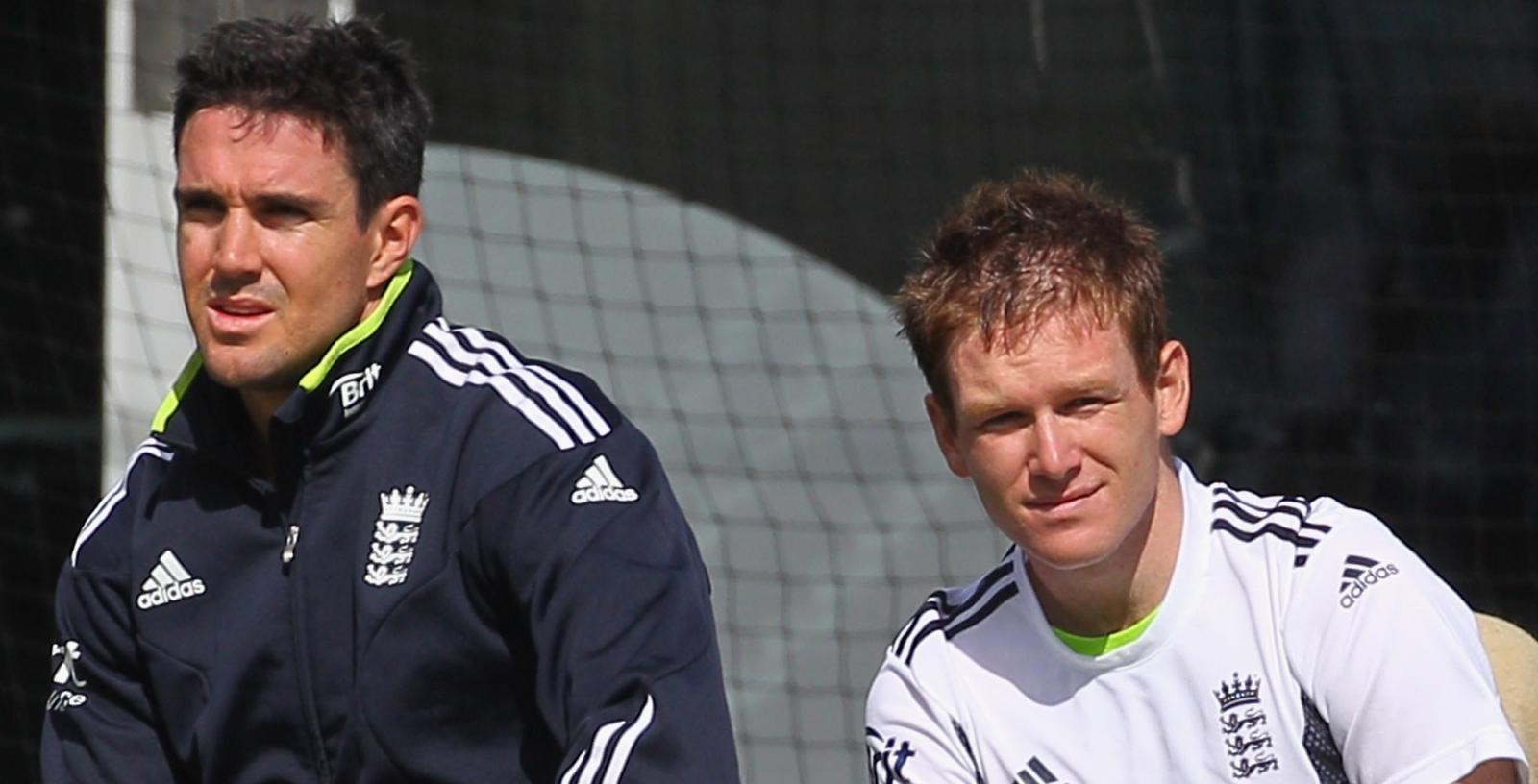 Kevin Pietersen and Eoin Morgan