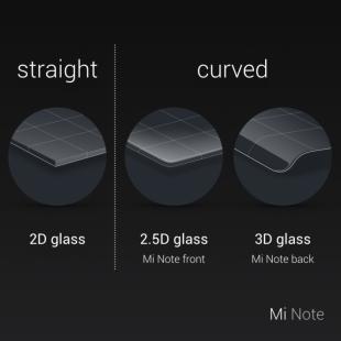 Xiaomi Mi Note Curved glass