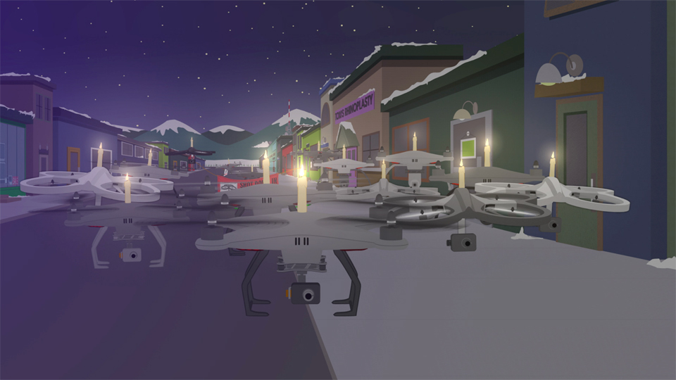 South Park drone