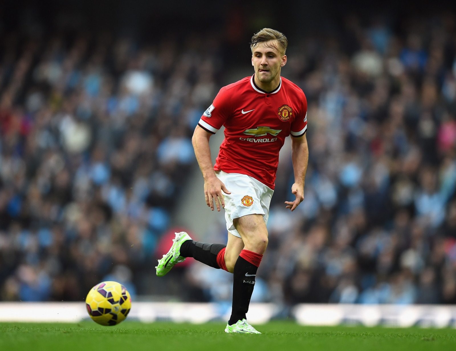 Luke Shaw I want to show people why I am at Manchester United