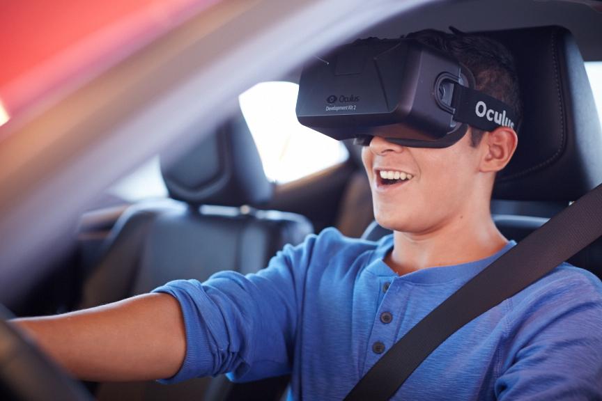 Oculus Rift Toyota app