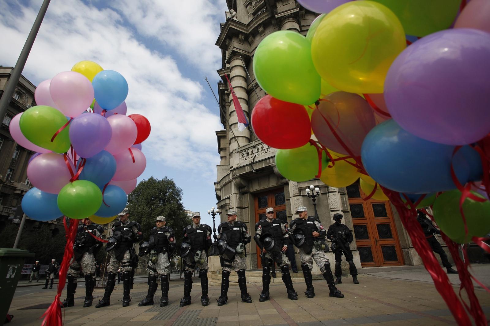 Gay rights serbia