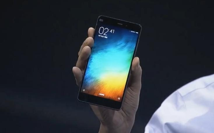 Xiaomi Mi Note unveiled as competitor to iPhone 6 Plus