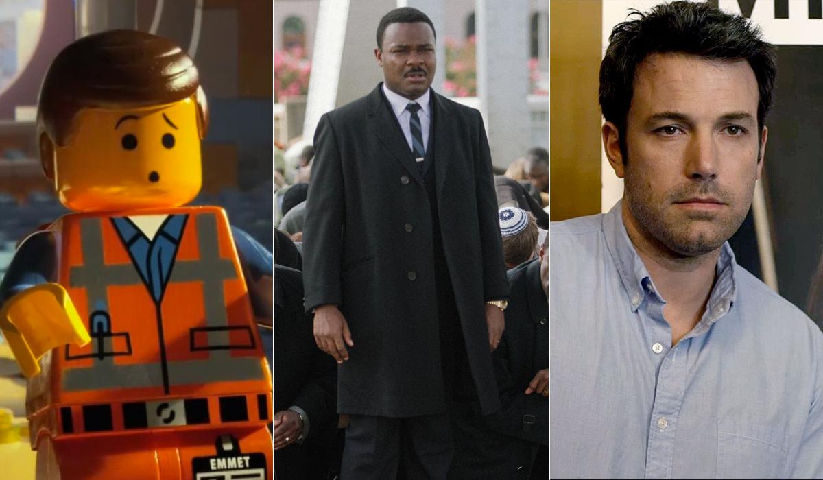 Oscar Nominations Snubs Surprises Shocks Selma Lego Movie