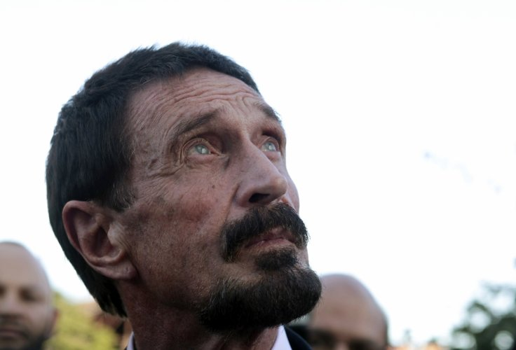 John McAfee knows who hacked Sony Pictures