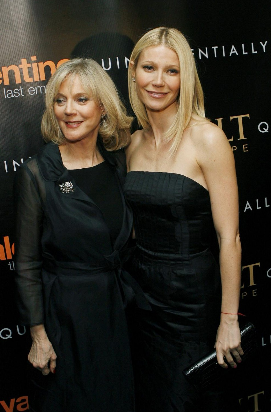 Actress Paltrow arrives with her mother actress Danner at premiere of film