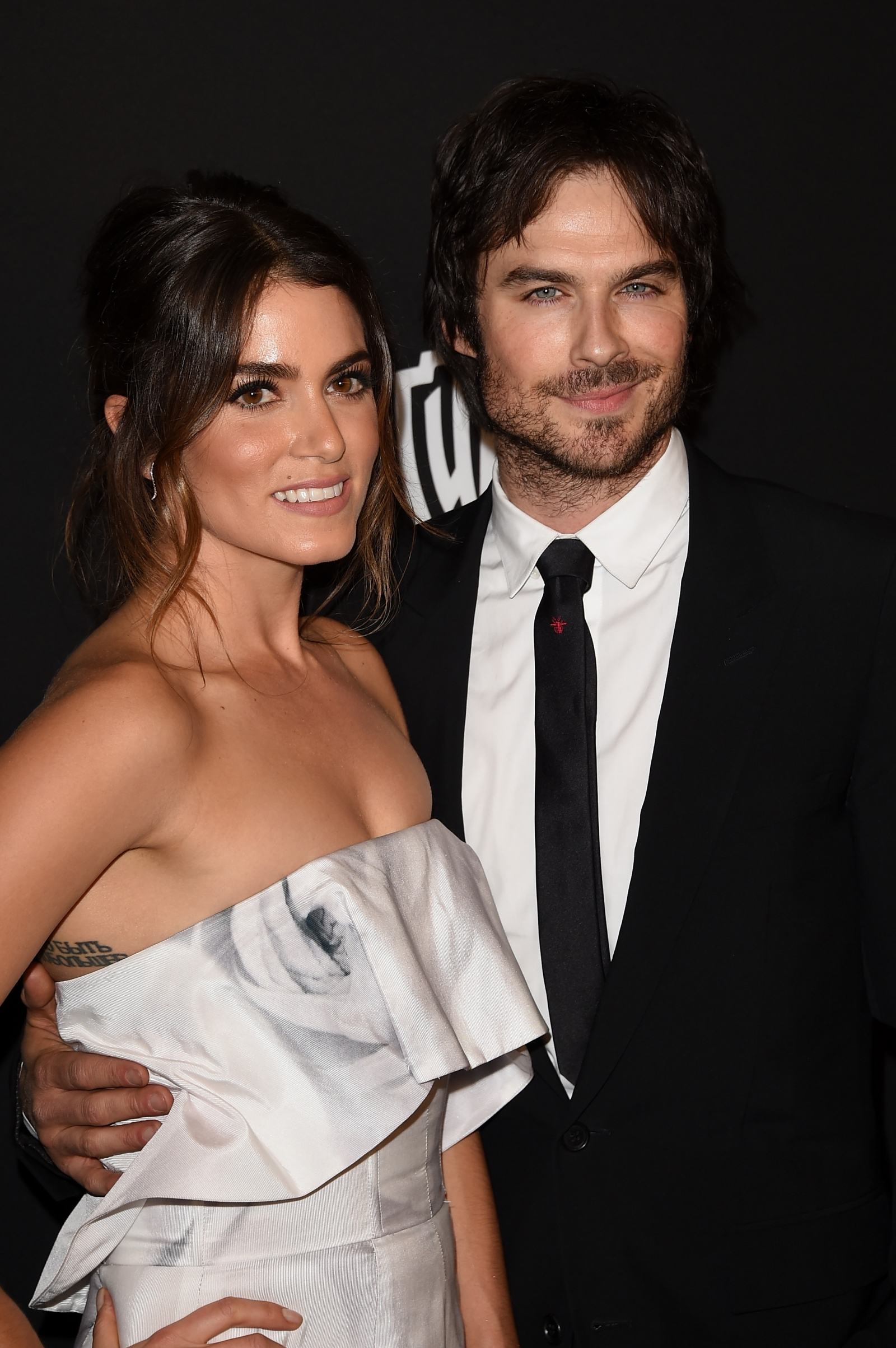 Ian Somerhalder and Nikki Reed