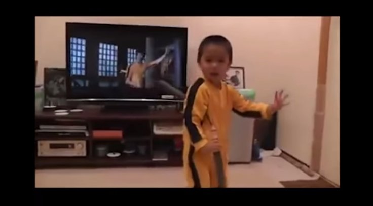 Bruce Lee's reincarnation? Four year old boy's amazing nunchakus skills reminds fans of legendary martial artist