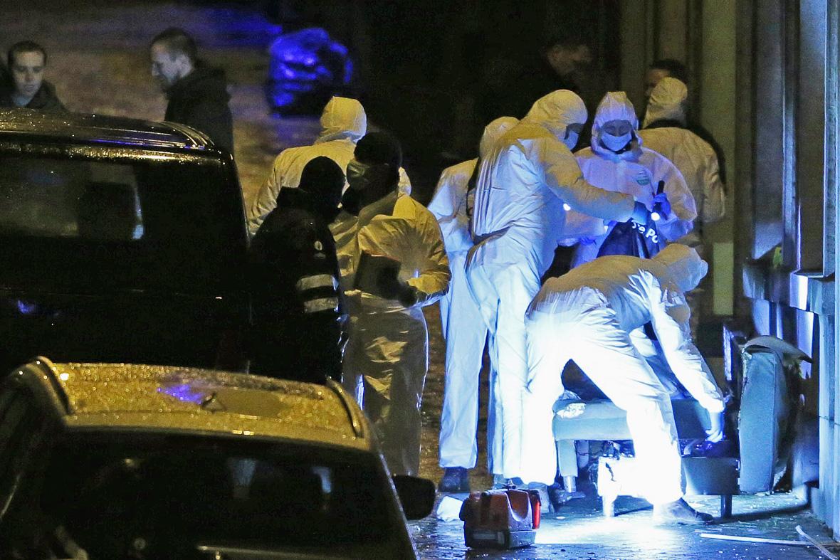 belgium terror raid