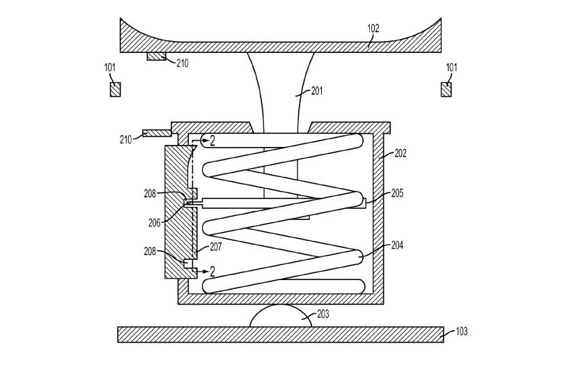 Apple iPhone 7 gaming patent