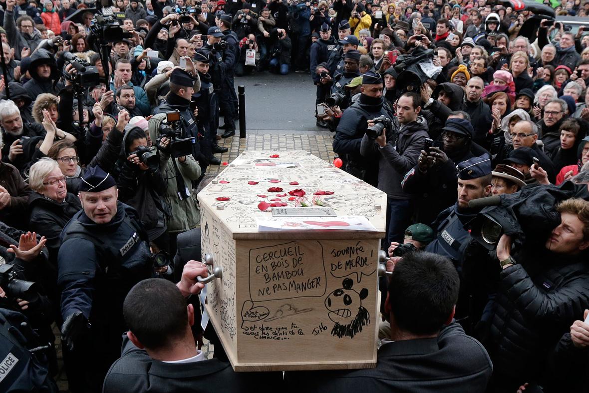 charlie hebdo funeral
