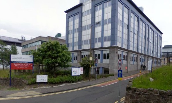 Edinburgh Western General Hospital Fire Kills Elderly Woman