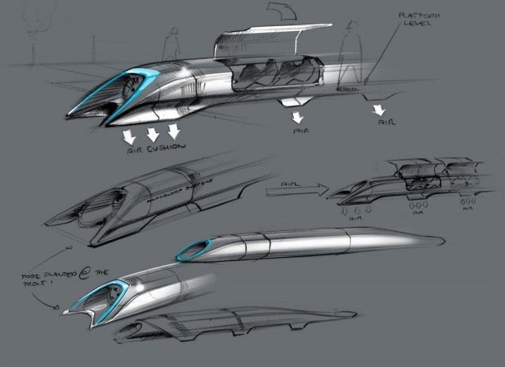 hyperloop racing elon musk
