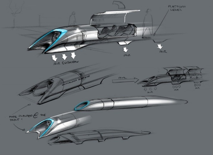 hyperloop racing elon musk