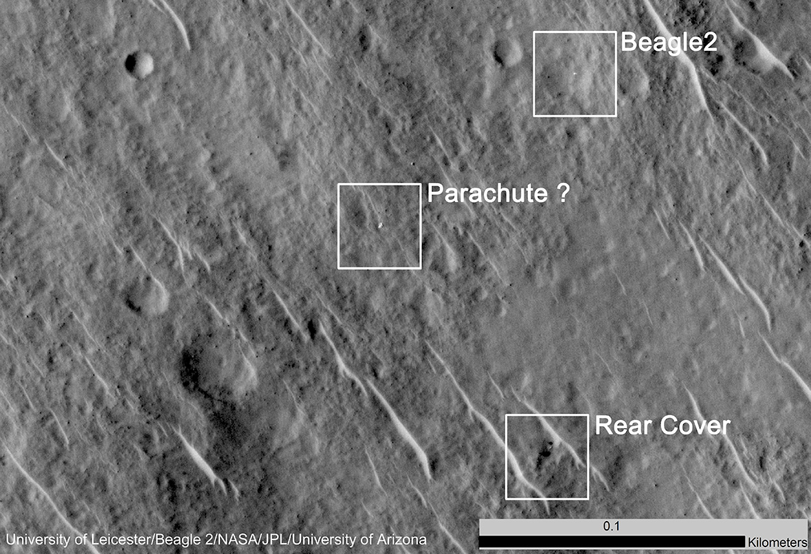 Beagle 2 mystery solved: Nasa photos show probe's ...
