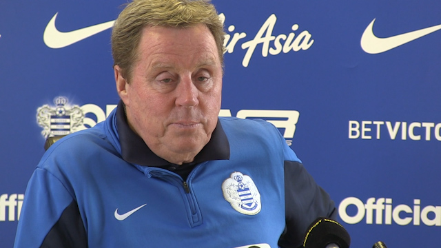 Harry Redknapp laughs off sacking rumours