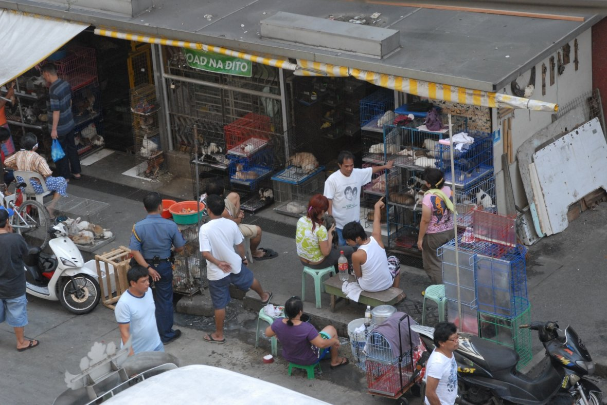 Manila's wide-ranging black market