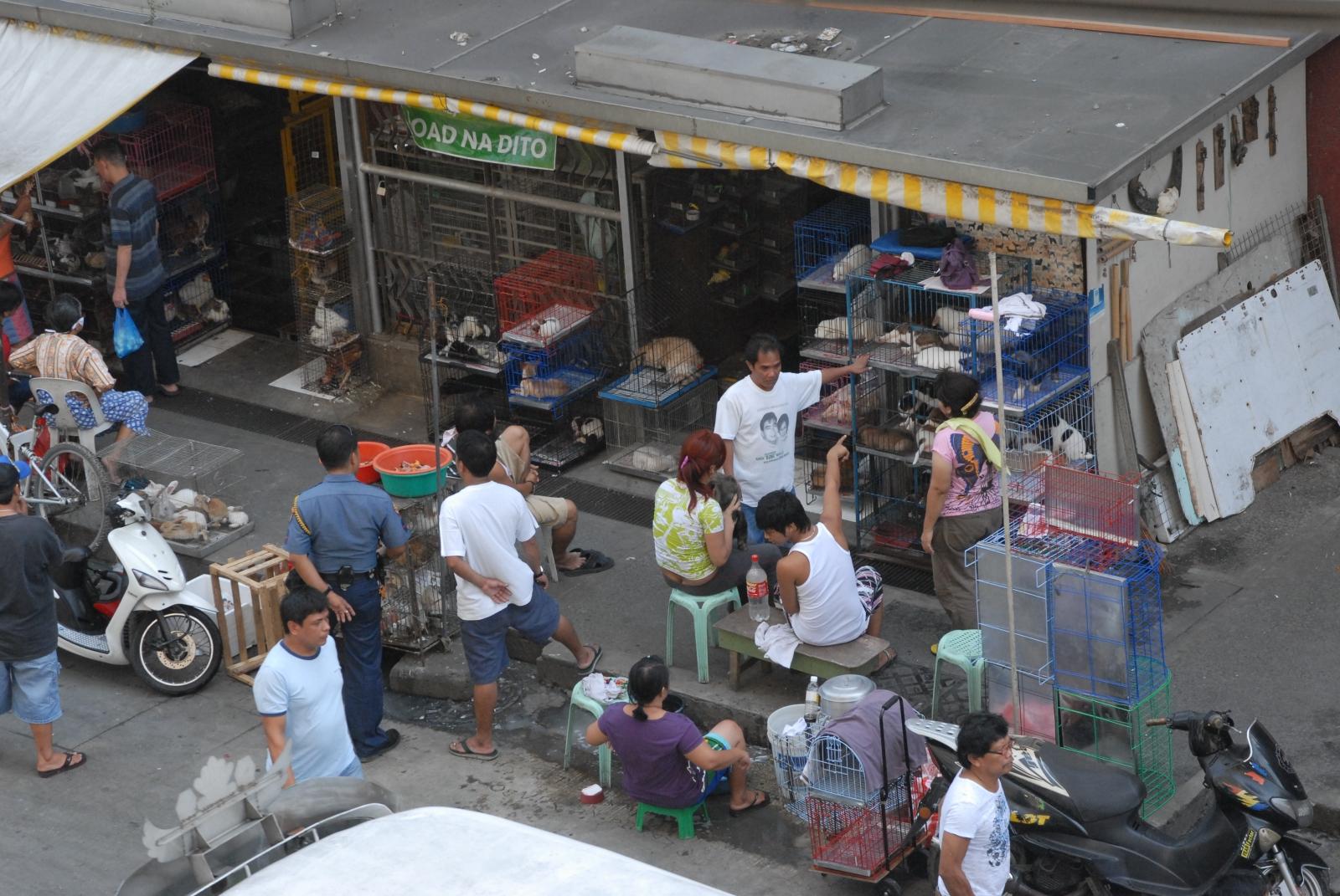 Manila's wide-ranging black market