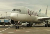 Qatar Airways inaugurates A350 challenging Lufthansa
