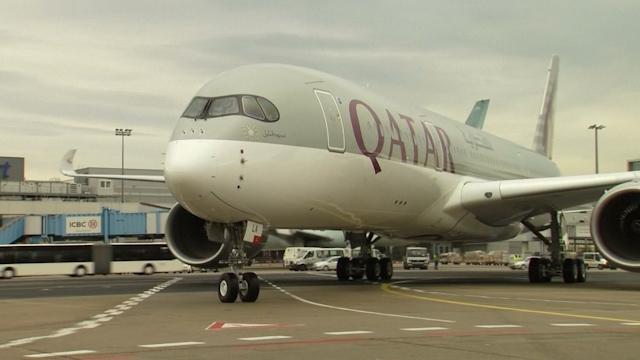 Qatar Airways inaugurates A350 challenging Lufthansa