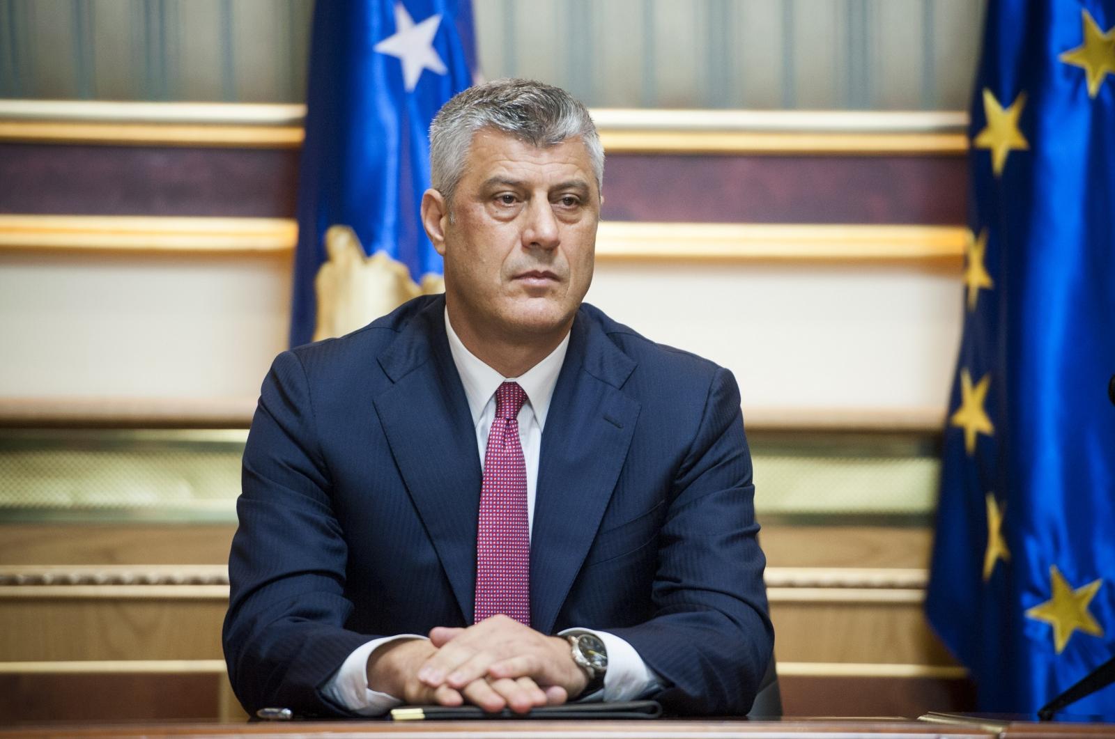 Kosovo's Foreign Minister Hashim Thaci