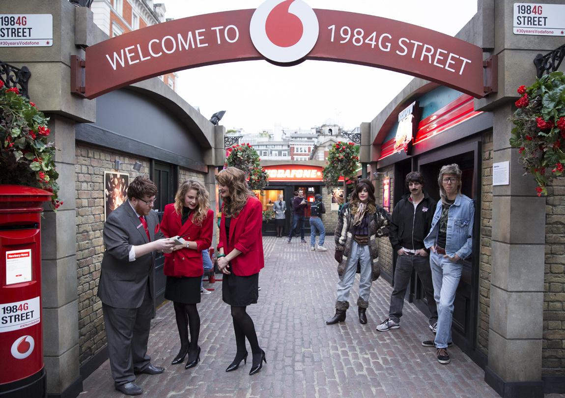 Take a journey back in time with 1984G Street in Covent Garden
