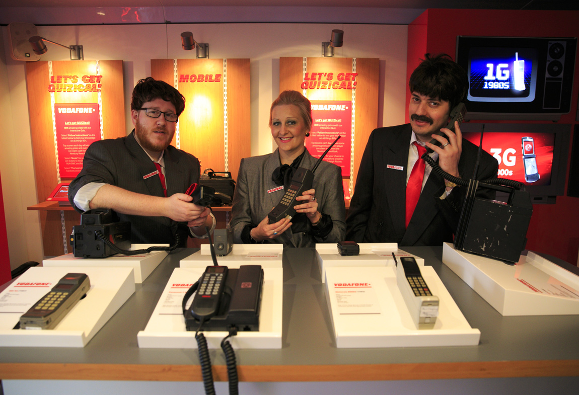 Here's the latest in 1G technology that Vodafone has to offer