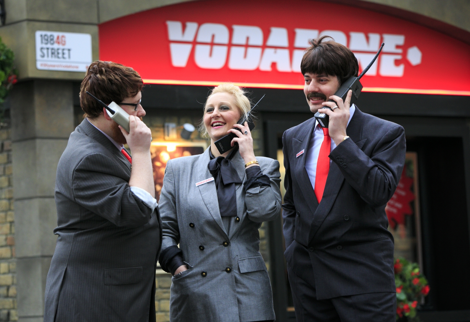Back to the Future: Vodafone launches 1984G Street to honour UK's first mobile phone call