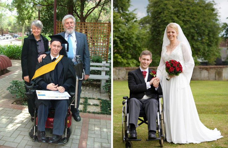 In the last decade, Martin has gained a degree, works as a web designer and gotten married