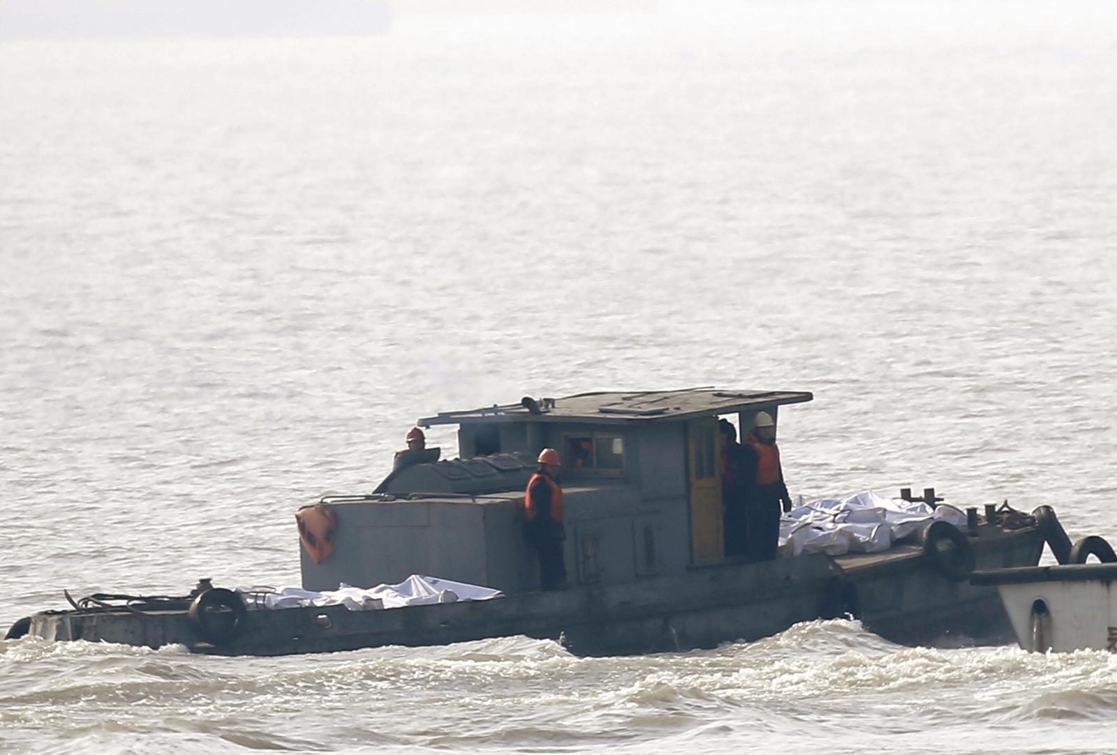 China Yangtze boat capsize tragedy