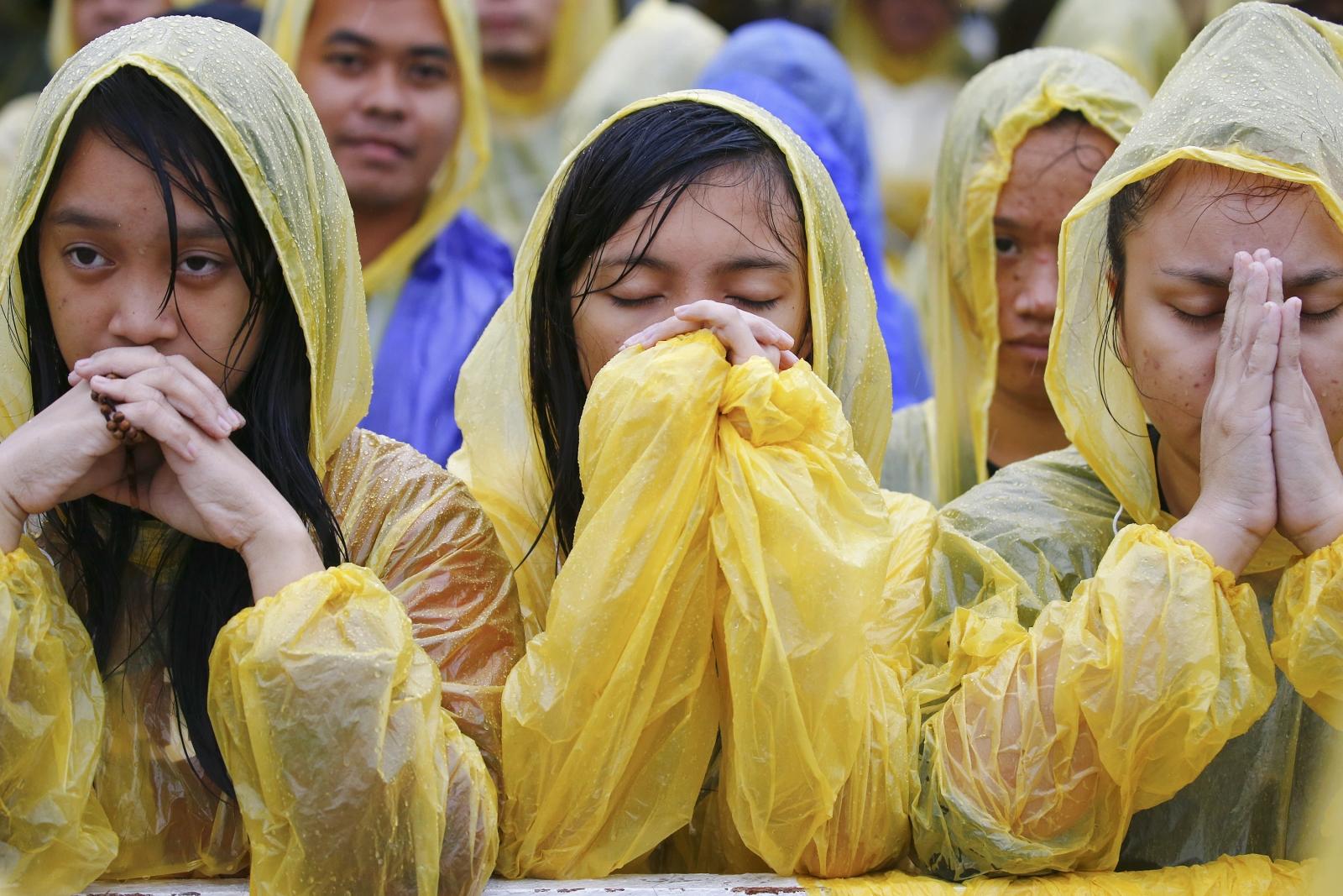 Tacloban pilgrims