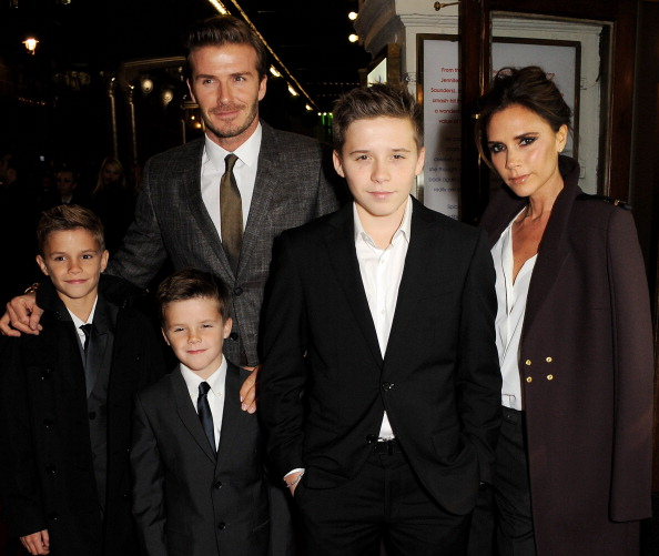 Image result for david and victoria beckham