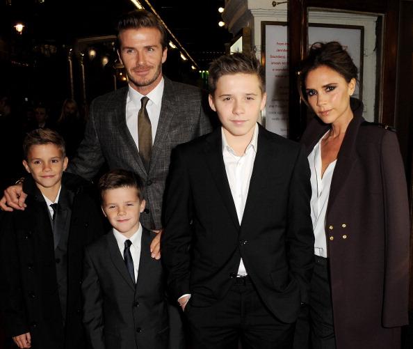 Victoria Beckham Brooklyn Beckham David Beckham