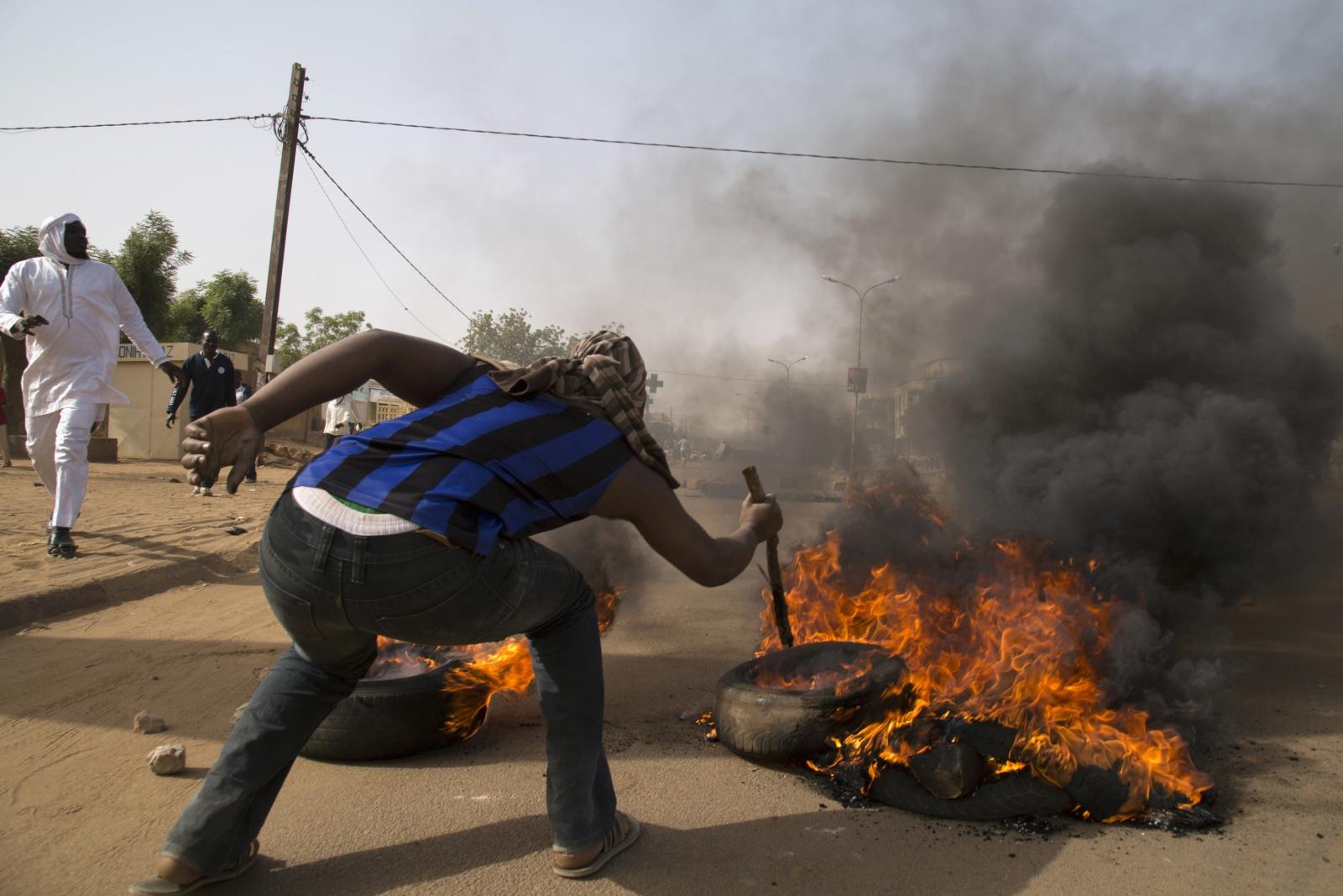 Niger protests against Charlie Hebdo cartoons