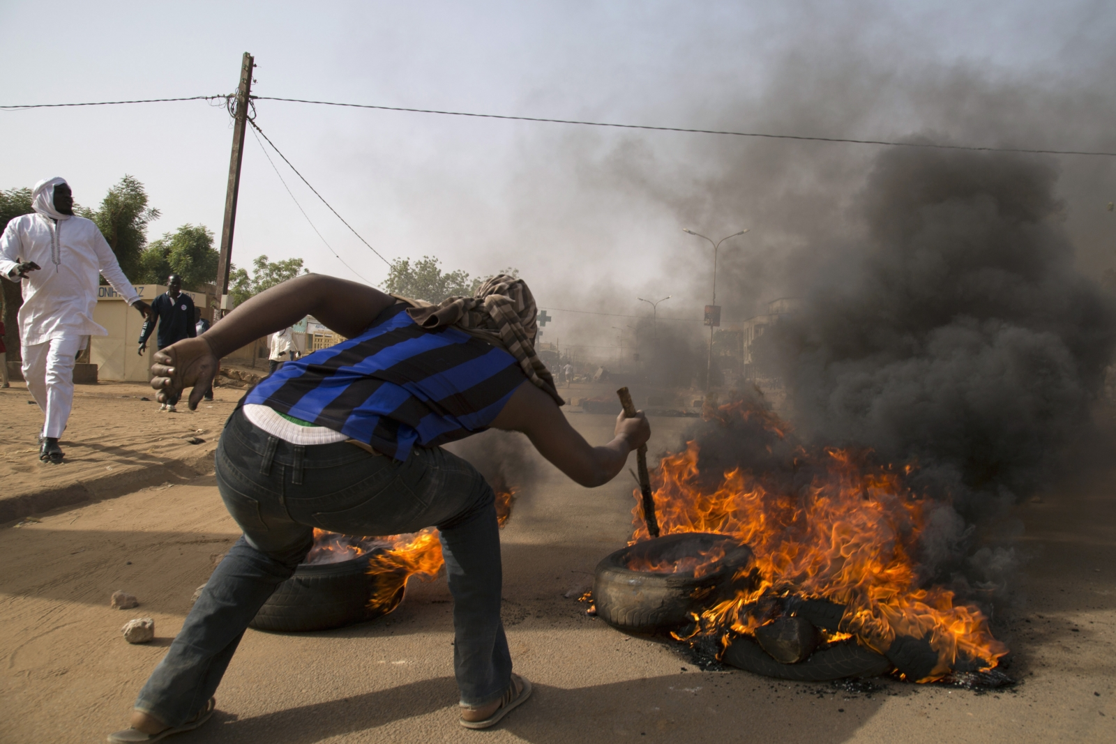Niger protests against Charlie Hebdo cartoons