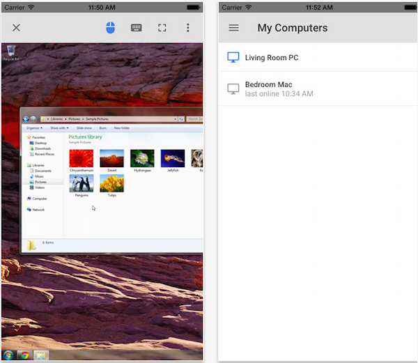 How to remotely access Mac or PC on iPhone or iPad with Chrome Remote Desktop