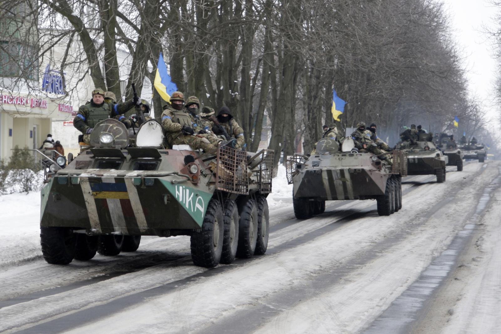 Ukraine crisis in Donbass