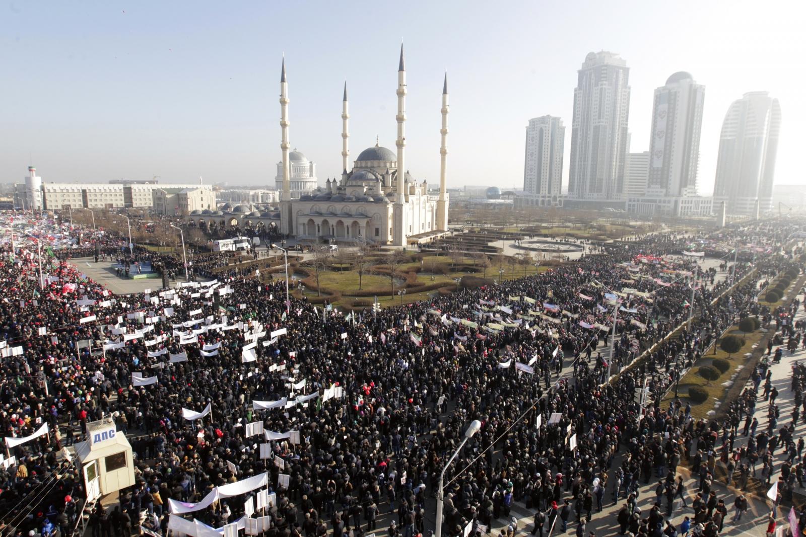 prophet Mohammad Grozny Charlie Hebdo