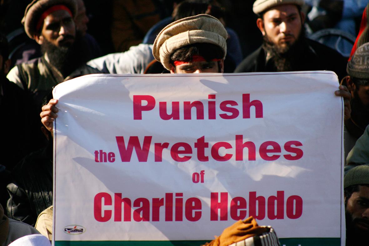 Charlie Hebdo protests