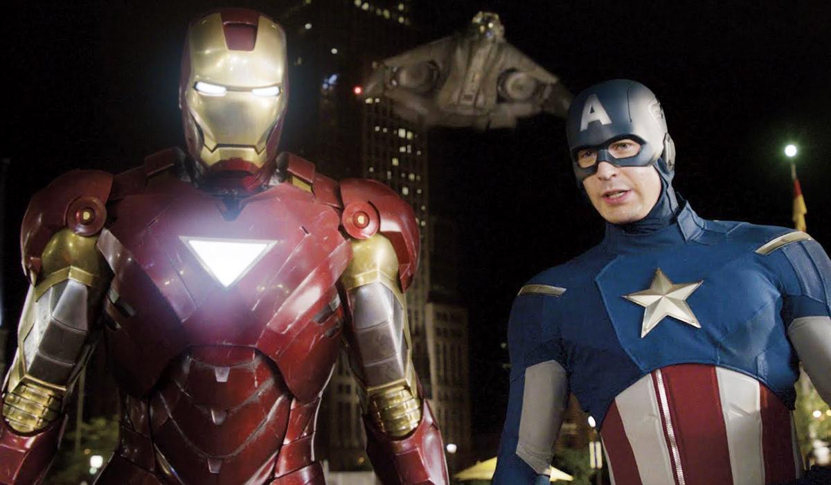 Iron Man Captain America Avengers Civil War