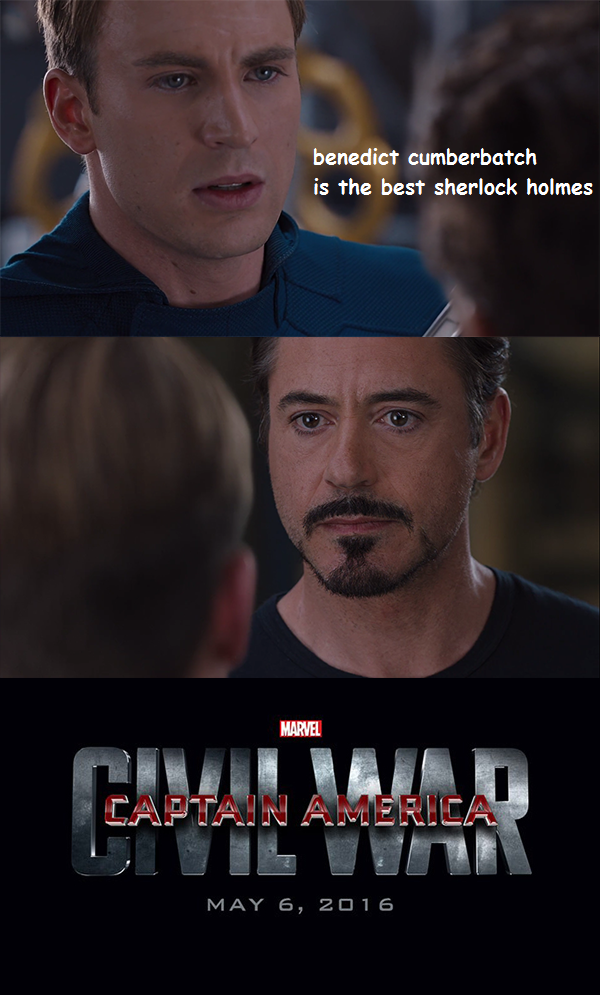 Captain America Civil War Memes Wonder Why Iron Man And Cap Go To War