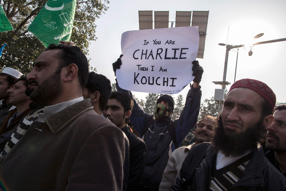 Charlie Hebdo protests