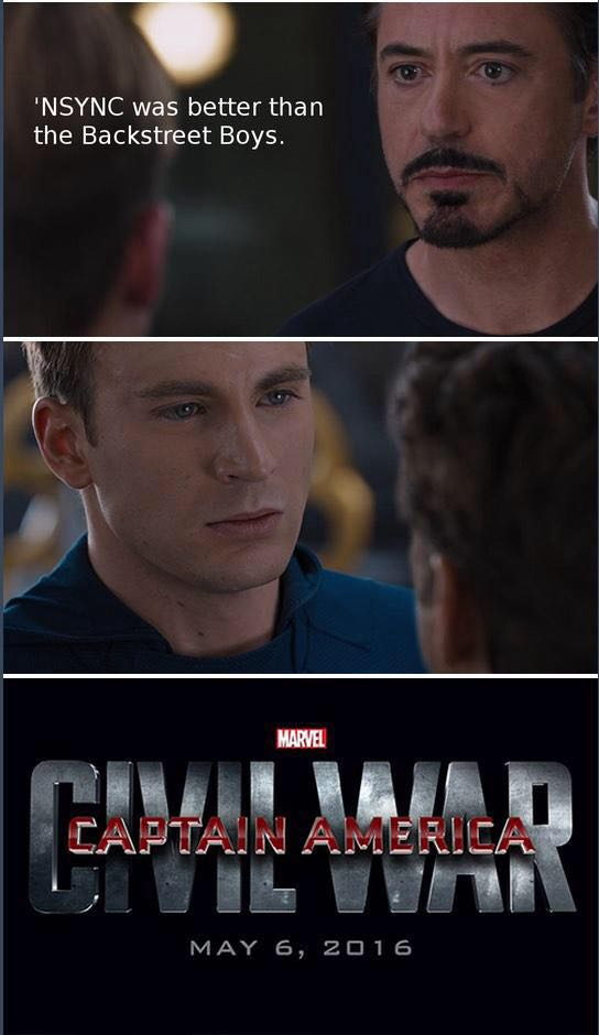 Civil War Meme