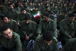 Members of the Iran's revolutionary guards